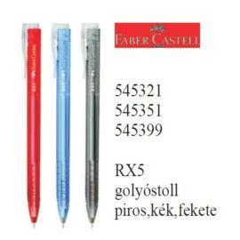 *40484 GTOLL Faber-Castell RX5 átlátszó testű