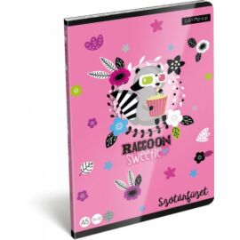 *40726 FÜZET A5 LIZZY21 szótár 31-32 Lollipop