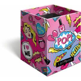 *40881 ÍRÓSZERTARTÓ négyzet alakú Lizzy21 Lollipop