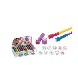 *42455 NYOMDA ceruzavégre önfestékezős 14*41mm 10 minta