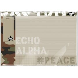 *42980 ASZTALI könyökalátét LIZZY21 #peace Alpha