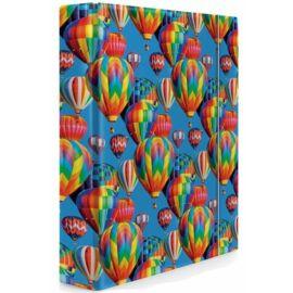 *43500 FÜZETBOX A5 LAU színes, mintás