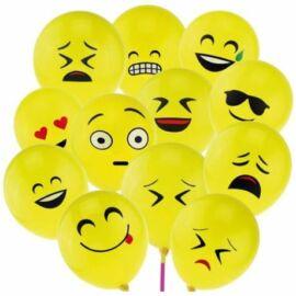 *48275 LUFI 30 cm SMILE 10db/csom. sárga