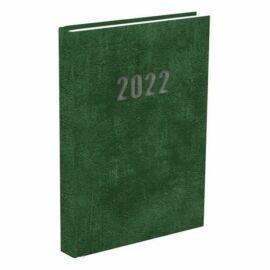*48676 HATÁRIDŐNAPLÓ 2022 B5 heti T-Calendar Baladek Casina Balacron zöld