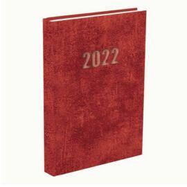 *48679 HATÁRIDŐNAPLÓ 2022 B5 heti T-Calendar Baladek Casina Balacron piros