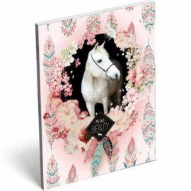 *49340 NOTESZ A7 papírfedelű LIZZY Wild Beauty Rose21