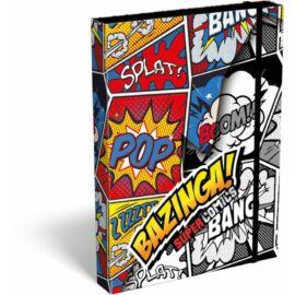 *49793 FÜZETBOX A5 LIZZY21 Supercomics Bazinga