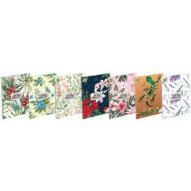 *51720 FÜZET A5 T-CREA  Eco kockás  Wild Flowers  27-40