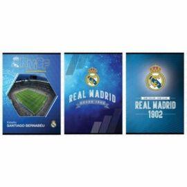 *53317 FÜZET A5 Real Madrid kockás 27-32