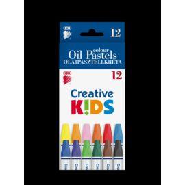 *53630 ZSIRKRÉTA 12 Olajpasztell Creative Kids
