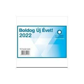 *53666 NAPTÁR asztali  TA23 Bluering   2022