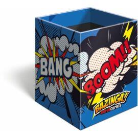 *53703 ÍRÓSZERTARTÓ négyzet alakú Lizzy21 Supercomics Bazinga