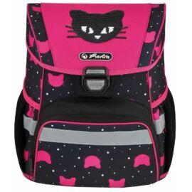 *53796 Iskolatáska HERLITZ Loop üres Black Cat