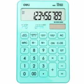 *53872 SZÁMOLOGÉP asztali DELI Touch 120 12dig színes