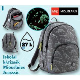 *54018 Hátitáska MQ Jurassic foszforeszkáló mintával 16124
