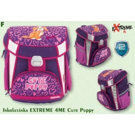 *54022 Iskolatáska Extreme4Me ergonómiai Cute Puppy   FET1840