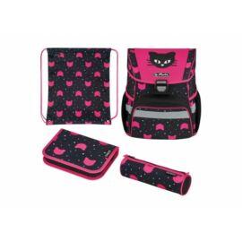 *54091 Iskolatáska HERLITZ Loop Plus töltött Black Cat
