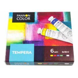 *54330 TEMPERA Művészfesték 6*18ml  Pannoncolor