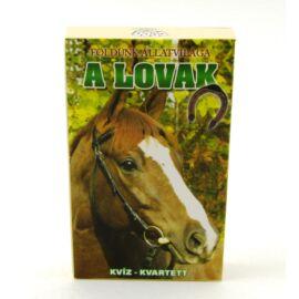 KÁRTYA kvartett Földünk állatvilága KVIZ (A lovak)