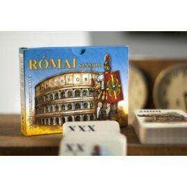 KÁRTYA OSZTO-Római számok       KVIZ (Római számok)