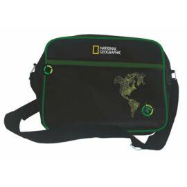 """Oldaltáska Unipap """"National Geographic"""" laptoptartó rekesszel** (zöld, UNNGOLZ)"""