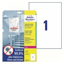 CIMKE Antimikrobiális fólia 210x297mm fehér 10 lapos