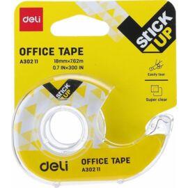 CELLUXTÉPŐ Office Tape kézi műa. átl.+ rag.szalag 18mm*7,62m