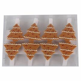 CSIPESZ fa karácsonyi mézeskalács fenyőfa 3 cm   468249
