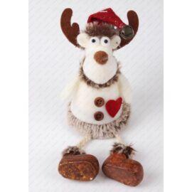 DEKORFIGURA filc karácsonyi rénszarvas mikusapiban
