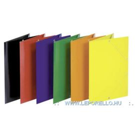 DOSSZIÉ gumis A4 Donau karton Standard (fekete, DFEP011G)