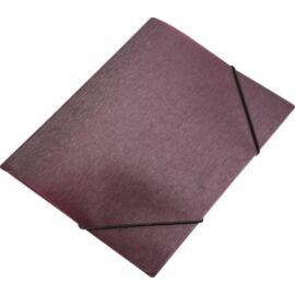 """DOSSZIÉ gumis A4 PP Panta Plast """"Simple"""" 15mm metál (bordó, INP4105710)"""