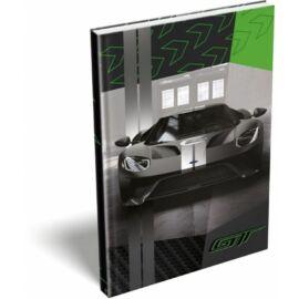 EMLÉK keményfed.notesz A5 LIZZY FORD (GT Green, 20777902)
