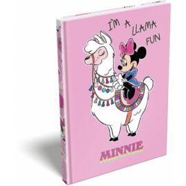 EMLÉK keményfed.notesz A5 LIZZY Minnie Mouse Lama