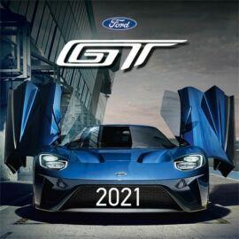 FALINAPTÁR 2021 LIZZY lemez M közepes 18*18  Ford GT