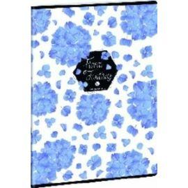 FÜZET A4 ARS UNA kockás extra kapcsos 87-40 Floral, Wonder (Floral Fantasy Hort., A16065AFH941)