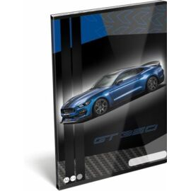 FÜZET A4 LIZZY vonalas FORD (Mustang Blue, 20745503)