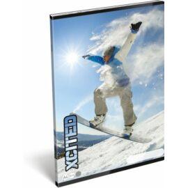 FÜZET A4 LIZZY20 kockás X-Cited (Snowboard, 20743408)