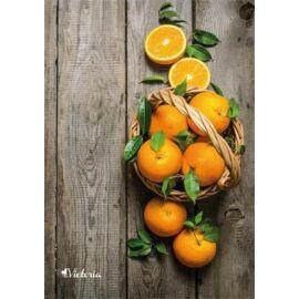 FÜZET A4  VICTORIA  mintás kockás 96l vegyes minta (Fruit, ISVFPF496TK)