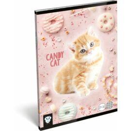 FÜZET A5 LIZZY kockás 27-32 Kis bagoly vegyes minta (Candy Cat, 20815738)