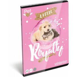 FÜZET A5 LIZZY szótár Little friends pink 31-32