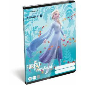 FÜZET A5 LIZZY vonalas 21-32 Frozen2 Believe