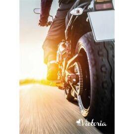 FÜZET A5  VICTORIA   mintás kockás 96l vegyes mintás (Rider, ISVFPR596TK)