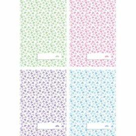 FÜZET A5 pd kockás 27-32 Pastel Mosaic