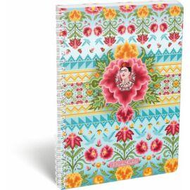 FÜZET spirál A4 LIZZY kockás Frida Kahlo-20 (Cielo Azul, 20805201)