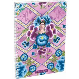 FÜZET spirál A4 LIZZY kockás Frida Kahlo-20 (Púrpura, 20805302)