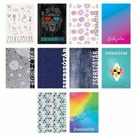 FÜZET szótár A6 pd 32l Colorful mintás
