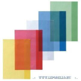 FÜZETBORÍTÓ A5 Herlitz PP átlátszó színes