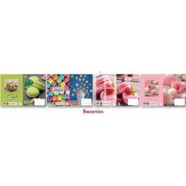 FÜZETBORITÓ A5 T-Crea mintás (Sweeties21, N12064TSW)