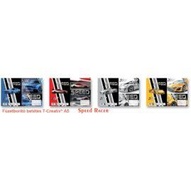 FÜZETBORITÓ A5 T-Crea mintás (Speed Racer'20, N12063TSR)