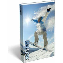 FÜZETBOX A4 LIZZY  X-Cited (Snowboard, 20764708)